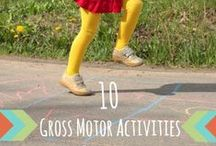Gross Motor Activities for Kids / All of FSPDT holiday post in one place for you to look through quickly.  Need inspiration from Valentine's Day through Christmas we got you covered!  http://www.frogsandsnailsandpuppydogtail.com/