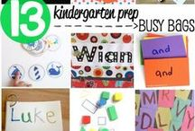 Busy Bags / busy bag ideas for kids