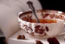 Cocooning & thé d'automne / Boire un bon thé bien chaud au coin du feu alors qu'il pleut dehors, ça vous fait envie ? Nous, oui !