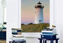 Lighthouses / Between the years of 1799 and 1869, five lighthouses were constructed on Martha's Vineyard to serve as beacons for sailors approaching the island. Today, these architectural landmarks are icons that continue to remind us of the Vineyard's rich maritime history.