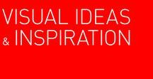 Visual ideas & inspiration / visual ideas in graphic or product design, inspiration in details or big visions