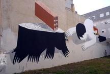 Street Artist: Escif