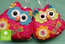 Búhos  (OWL) / Búhos en diferentes materiales  / by ElyDCollazo