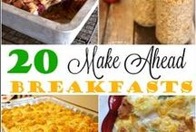 what's for breakfast? / Recipes dedicated to the best meal of the day: breakfast.