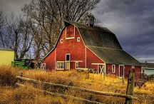 Barns,bridges and cabins / by Marie Schuler