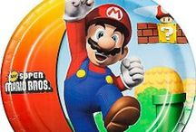 Super Mario Brothers Party / Win the high score for party planning with these Super Mario Brothers party supplies and decorations!