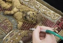 Textile Conservation / Fabric of Life has over 30 years experience in Textile Conservation Services .  We can help your preserve and display your textiles.