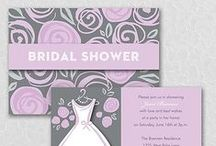 Bridal Shower Invitation Ideas / If you are planning a Bridal Shower don't miss our custom printed bridal shower invitations and bridal shower decorations and accessories.