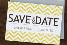 Save the Date Invitations / Once your date is set for your wedding, don't forget to send out save the date invitations to all your guests. Save the Dates can be sent our as paper card save the date invitations or save the date magnets. Wedding magnets are great because they will be kept in a prominent place!