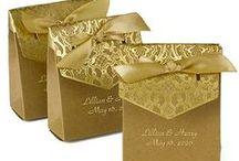 Wedding Favor Ideas / Wedding favor ideas including wedding favor boxes, wedding favor tags, personalized favor ribbon and favor bags.
