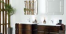 """Mobiliario de baño clásico GAMADECOR / Gamadecor ofrece muebles de baño de diseños clásicos, elaborados con materiales nobles que configuran espacios """"vintage"""" con sello de exclusividad. Como alternativa a las actuales tendencias minimalistas, Gamadecor propone una línea de inspiración clásica con diseños lujosos y ostentosos. Dentro de una estética antigua, los diseños más imaginativos y detallistas se hacen hueco en el baño de nuestro hogar."""