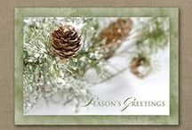 Personalized Season's Greetings Holiday Cards / Order personalized Season's Greetings cards for send to business associates, customers and clients, friends and family.