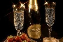 *Champagne, caviar, fine dining / by Annette Deux