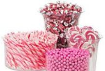 Candy Buffet Ideas / Candy Buffets are a hot, new thing on the party scene. Used as a dessert bar or party favor, the way you set up your candy buffet is important. Here are some ideas to use as inspirations from WholesalePartySupplies.com!