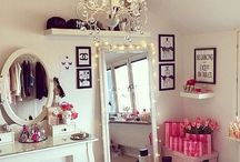 Make-up - organizzazione e storage - make-up room / Stanza dei trucchi, make-up organizer, organizzare il make-up, make-up, make-up room, beauty room.