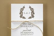 Rustic Wedding Invitations and Supplies / If you love the rustic look and are having a rustic wedding, don't miss our rustic wedding invitations, and rustic wedding accessories, ideas and supplies!