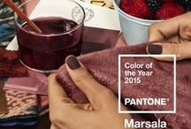 ● MARSALA: COLOR OF THE YEAR 2015 ●