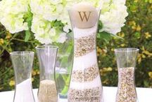 Wedding Sand Ceremony Ideas / Here are some of our wedding sand ceremony sets!