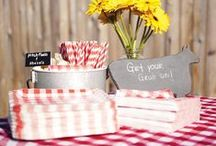 BBQ Party Ideas / Summertime is all about the cookouts.  Here is a collection of ideas for your next BBQ!