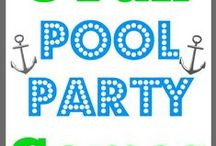 Pool Party Ideas / Make a splash at your next poolside event with some of our Pool Party supplies and ideas!