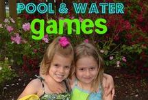Outdoor Water Games / When it's hot, hot, HOT play some games to keep everyone cool.  Here are some awesome Outdoor Water Games for any summer party!