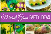 Mardi Gras Party Ideas / Don't forget the traditional Fat Tuesday celebrations. Check out all our party supplies and ideas for this yearly tradition.
