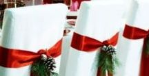 Christmas  Wedding Ideas / How romantic would a Christmas wedding be? Think snowflakes, poinsettias, SNOW for the perfect winter wedding ideas! Check out these great ideas for invitations and favors for your December winter wedding!