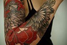 Tattoo - Floral / Vegetal / by Laurent Monniez