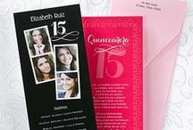 Quinceanera Invitations Mis Quince / Quinceanera Invitations, accessories, ideas and party napkins to help you celebrate your quinceañera, Mis Quince once in a life time birthday party! Invitations available in Spanish or English!