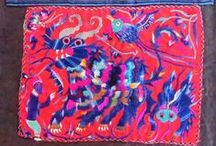 Chinese Textiles / Handmade vintage textiles from China.  Textiles are from Minority cultural groups such as the Miao and also more traditional Han Chinese textiles