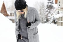 Winter outfits / Lovely coats, thick scarves, cosy sweaters, cool outfits!