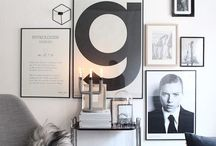 Gallery wall / How to create a perfect gallery wall