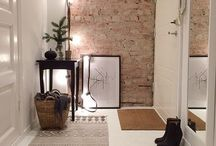 Hallway inspiration / Ideas for a beautiful entry