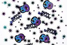 50th Birthday Party Ideas / Celebrate 50 in style with these ideas for food, decor, and invitations.