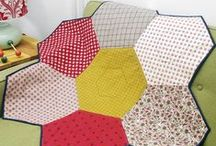 Quilting - Hexagons - Machined