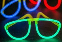 Glow Party Ideas / BLACKOUT