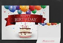 Business Birthday Cards / Personalized business Birthday cards are great to keep on hand for your office. Customers and employees will appreciate receiving a birthday greeting card! Discount at check out!