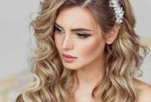 Matrimonio - Acconciature Sposa - wedding Hair / Tante idee per le future spose, acconciature per la sposa, capelli sposa, raccolti nuziali, sposa, cerimonia.