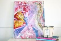 Art in situ / http://hey-stella.com/ https://www.facebook.com/HeyStellaCreativeLiving