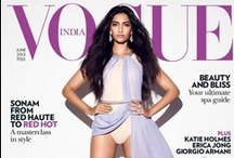 VOGUE INDIA: COVER GIRLS / India's fashion bible Vogue India front covers
