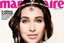 MARIE CLAIRE INDIA: COVER GIRLS / Marie Claire India Front Covers
