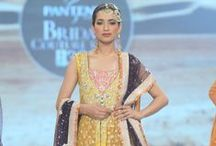 ZAINAB CHOTTANI / Among the most famous fashion designers of Pakistan Fashion industry, Zainab Chottani formerly known as Zainab Sajid is one shining name. She has formed a forte for herself in the country's fashion scene due to her breathtaking clothing range from intricately embellished bridals to refreshingly cool pret wear.