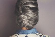 The Hair I Dream / All the lovely hairsyles and braids and buns, want them all!