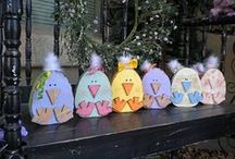 Easter  Crafts  Ideas  Food & Decor / by Kashy