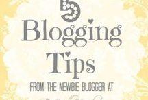Blog tips / Tips gathered on blogging