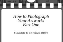 How To...Photograph Your Artwork / by Napa Valley Open Studios