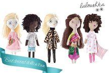 Laloushka Doll / Laloushka Toys. Hand made in Europe. Laloushka.pl