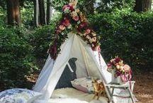G L A M P I N G / Glamping: glamour camping, tent, yurt, picnic, cabane...