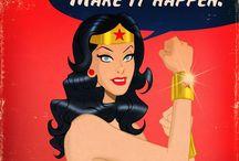 Wonder Woman ❤️ / by Amy Grimes Bray