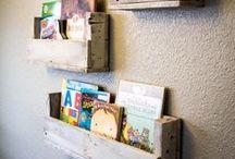 Pallet wood Ideas / Ideas for pallets, pallet wood, apple Crates, crates.